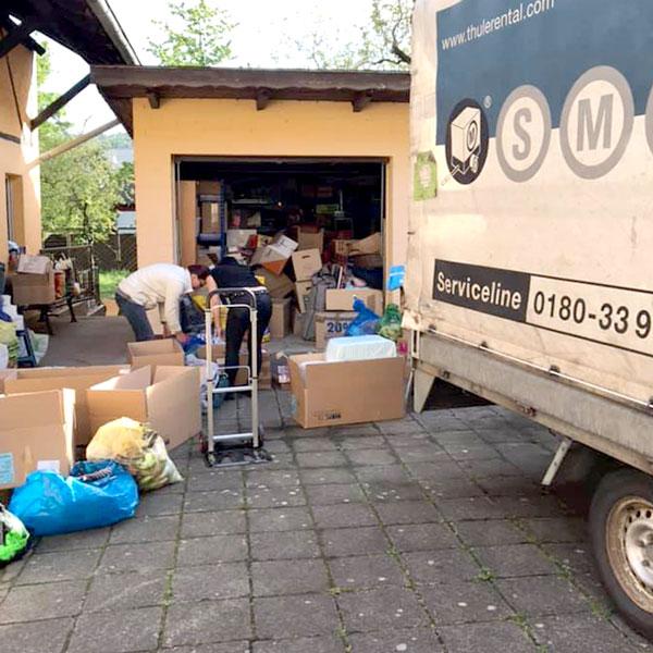 Vorbereitungen in Deutschland, Aschaffenburg